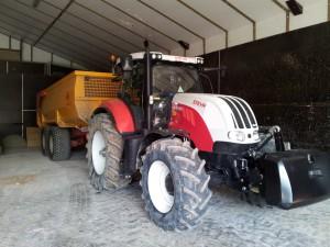 Tractor van Tok Tok de Dobbelaere